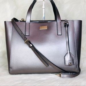 Kate Spade Small Nelle Leather Satchel